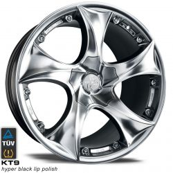 KT9 Hyper Black Lip Polish 10x22