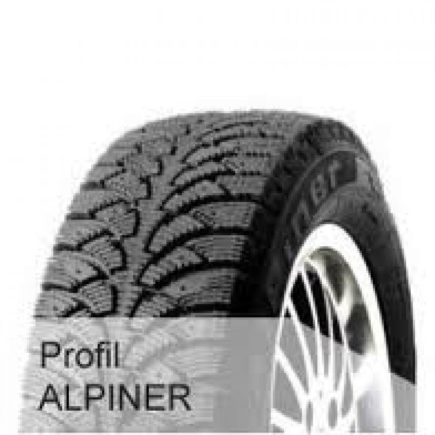 Alpiner -pinnoitettu- 185/55-16 H